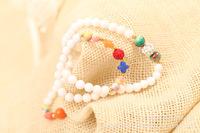 Natural jade crystal bracelet. Colorful stone pendant crystal bracelet. Popular in Europe and America fashion bracelet.