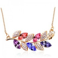 10pcs/lot Free shipping&nice gift&crystal necklace/pendant/heart/IIDHA1022,flower