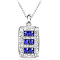 10pcs/lot Free shipping&nice gift&crystal necklace/pendant/heart/IIDHA1029
