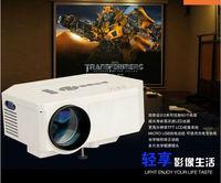 Hot sell mini projetor led UC30 digital projector full hd For Video Games TV Movie Support AV/USB/SD/VGA HDMI digital projector
