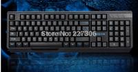 wired game/office Noiseless computer keyboard /waterproof USB