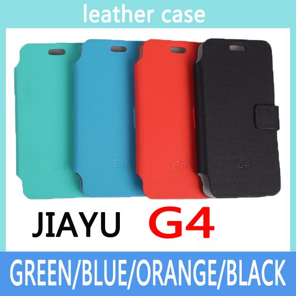 Estojo de couro para jiayu G4 tampa do telefone móvel para jiayu G4 celular para jiayu G4 grátis frete(China (Mainland))