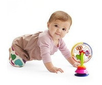 New arrival Sassy Baby tricolor rotating Ferris wheel toy creative educational toys with suction cups