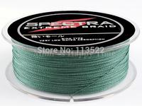 100M 10LB PE Dyneema Braided Fishing Line Green 0.12mm 109 Yard Spectra Braid