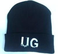 10 PCS/LOT UG Beanies Autumn Winter Wool Knitted Men Women Caps Casual Skullies Hip-hop