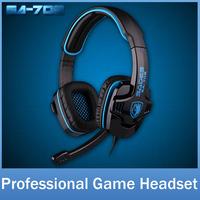 SADES SA708 Brand Gaming Headphone Headset For Computer Gamer 3.5mm Plug Stereo Bass Hi-Fi Earphone With Mic