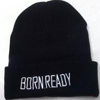 born ready Beanies Autumn Winter Wool Knitted Men Women Caps Casual Skullies Hip-hop