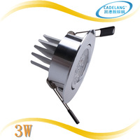 CADELANG Brand High Power 3w Led Ceiling Downlight 3w Lamp For Home Free shipping 3 years warranty
