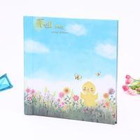 Korean cartoon grade adhesive-type album diy thin film lovers with this album