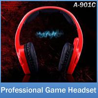 SADES SA901C Brand Gaming Headphone Headset For Computer Gamer USB Plug Stereo Deep Bass Earphone With Mic Volume Control