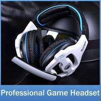 SADES SA810 Brand Gaming Headphone Headset For Computer Gamer 3.5mm Plug Stereo Deep Bass Earphone With Mic