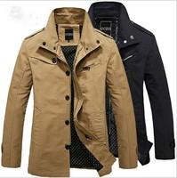 DG 2014 men jacket made of pure cotton jacket wholesale men's coat Leisure pure color collar jacket