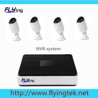 8 channel NVR,4 ip camera kit 720P outdoor waterproof ip camera video cctv surveillance system