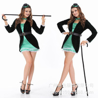 Hot Halloween cosplay costume for women bar costume
