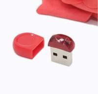 AU110 Small Red Super mini usb disk flash drive pen drives 4GB/8GB/16GB/32GB Genuine memory stick/thumb gift