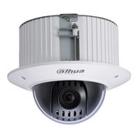 720P Dahua Small Shockproof HD CVI  PTZ Surveillance Camera with Alarm/Audio SD42C112I-HC for Bank