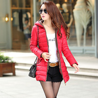 2014 winter women fashion down jacket feather dress,warm female Cotton padded clothes latest slim jacket girls long coats sale
