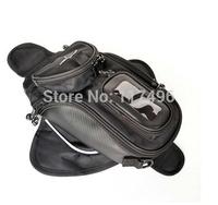 Hot sale!!! New Black Oil Fuel Tank Bag Magnetic Motorcycle Motorbike Oil Fuel Tank Bag