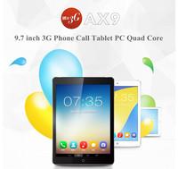 Ainol AX9 3G 9.7 Inch Phone Call tablet PC MTK8382 Quad Core 1GB RAM 8GB ROM IPS 1024x768 Screen GPS  Dual Camera Bluetooth WIFI