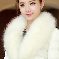 2014 new winter coat high quality women warm coat , Slim female models Nagymaros collar down jacket free shipping