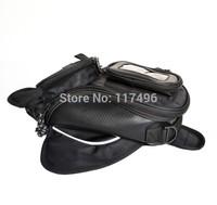 Hot sale!!! New Black Oil Fuel Tank Bag Magnetic Motorcycle Motorbike Oil Fuel Tank Bag  tk56
