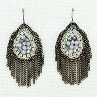 2014 New Fashion Handmade Bohemia Luxury Punk Tassel Earrings Ladies Sexy Earrings for Women Jewelry Statement Earrings