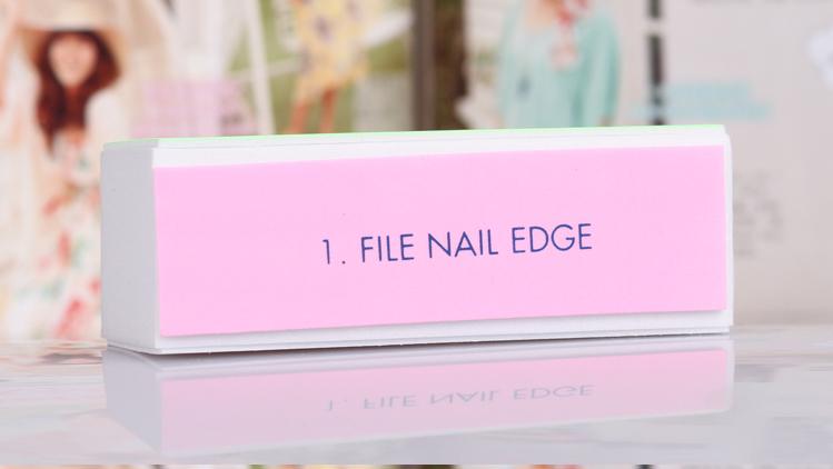 Buffing Manicure Nail Buffing Manicure