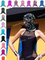 2014 Fashion Facekini  face-kini  Pool Mask UV Sun Protection Face Mask Swim Mask