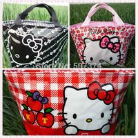3PC Hello kitty cute lunch bag Girls Handbag