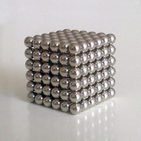 5mm 216 bucky ball magnetic ball shaped magic cube combination puzzle decompression toy