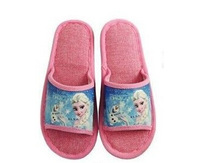 Wholesale frozen princess cartoon printing children slippers sandals for boys girl slippers shoes children babouche 5-8Age