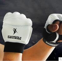 Kangrui adult Sanda boxing gloves half finger professional training Muay Thai fighting men and women sandbag boxing fight