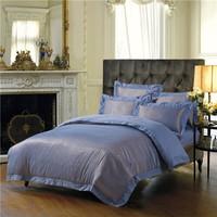 silk jacquard  bedding set 4pcs king/queen,duvet cover/comforter set/bed cover/bedspread/bedlinen/bedclothes/blanket/bedskrit