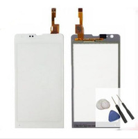 Digitalizador Touchscreen LCD Pantalla Touch FOR Sony Xperia SP M35h M35 Blanco White