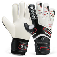 size 7-10 professiona keeper gloves finger band top goalkeeper gloves for football and soccer