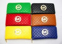 Women Fashion Wallet Letter Print Genuine Leather Wallets Clutch Bag Women Zipper Purses Coin Women Card Holder Purses