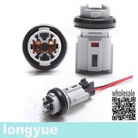 longyue  10pcs T10 Driver Side Marker light Socket Replacement case for Auto Van Car Truck