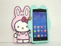 Sunfu new bunny TPU Mobile phone shell protective sleeve pendants xiaomi3