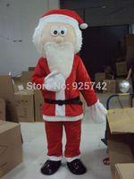 Santa Claus cartoon mascot adult performances cartoon clothing Halloween costumes Free Shipping