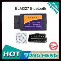 ELM327 Bluetooth Professional Diagnostic Tool OBD2 OBD-II ELM327 ELM 327 V1.5 Bluetooth Scanner Works On Android