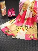 brand name scarf  imitation silk size180*70CM brand designer Scarf women ladies infinity scarves silk scarf shawl 5colors