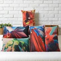 The Avengers Captain America Iron Man Superman Linen pillow cushion cover Pillowcases Pillow cover Home Decor sofa cushions