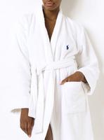 Hot Selling Cheap Women's Polo Bathrobe for Ladies Winter Cotton Swimming Pocket Polo Robe Bathing Sleepwear S-XL