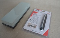 New 2pc/set 400#&1000# Whetstone Sharpening stone + Knife sharpening guide Drop shipping