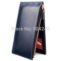Fashion Brand Leather Men Wallets Multifunctional Long Design Wallet Pockets ID Card Clutch Cente Bifold Purse Card Horder