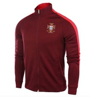 Thai version of the 2014 World Cup the Portuguese sports jacket Men's soccer uniform red blazer