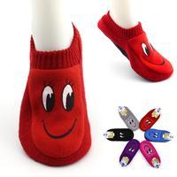 New Arrival Candy Colour Cartoon Floor Socks 2014 Fashion Slippers Anti-Slip 12pcs=6pairs/lot Free Shipping