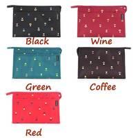 HS050 Free shipping Fashion cosmetic bag makeup bag receive bag  23.5*7.5*15.5cm