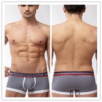 2X panties men's cotton navy stripe male trunk underwear boxers