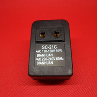 New 50W AC Power 110V Converter to 220V Voltage Converter transformer Adapter Free shipping